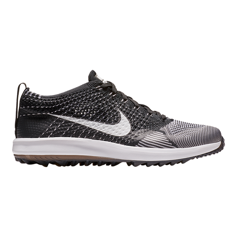 reputable site 9690c 09ac6 Nike Flyknit Racer G Golf Shoes - BlackWhite  Sport Chek