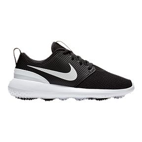 a7062a2e41 Nike Kids' Roshe G Jr. Golf Shoes - Black/White