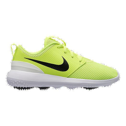 aa10c980d2 Nike Kids' Roshe G Jr. Golf Shoes - Volt | Sport Chek