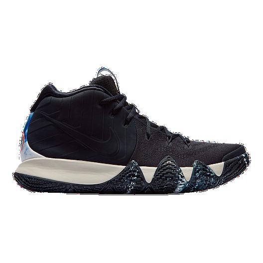 21974e7ee4c Nike Men s Kyrie 4 N7 Basketball Shoes - Obsidian Light Bone