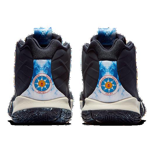 buy popular f3d69 10e7e Nike Men's Kyrie 4 N7 Basketball Shoes - Obsidian/Light Bone ...