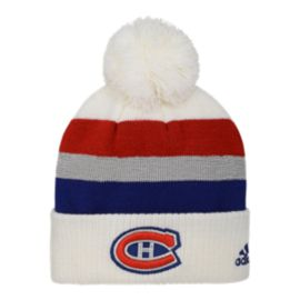 Montreal Canadiens Kids' NHL 100 Classic Cuffed Pom Knit