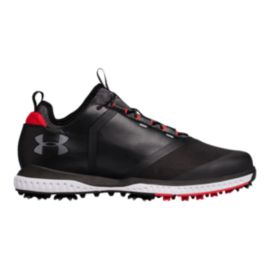 Under Armour Men's Tempo Sport 2 Golf Shoes - Black