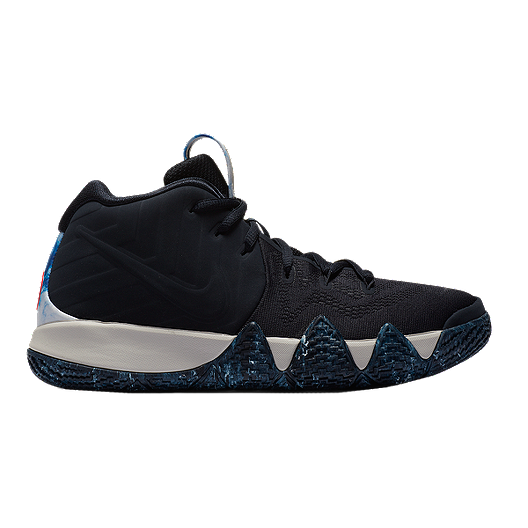 b450a9f9e92 Nike Kids  Kyrie 4 N7 Grade School Basketball Shoes - Obsidian Light Bone