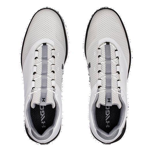 0209dd85c Under Armour Men's Fade RST Golf Shoes - White. (1). View Description