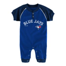 Newborn Toronto Blue Jays Game Time Coveralls