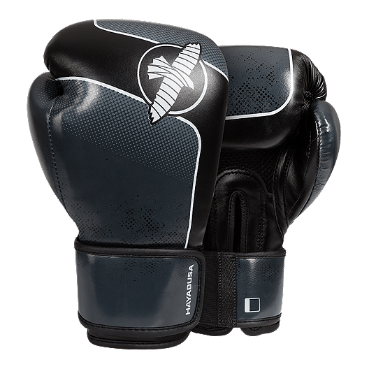 Hayabusa S3 14oz  Boxing Gloves - Charcoal/Black