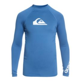 Quiksilver Boys' All Time Long Sleeve Swim Shirt