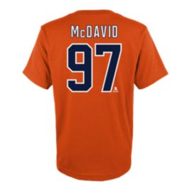 Edmonton Oilers Little Kids' Connor McDavid Player Association T Shirt