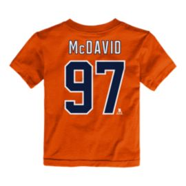 Edmonton Oilers Infant Connor McDavid Player Association T Shirt