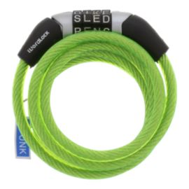 WordLock 6mm Cable Bike Lock - Green