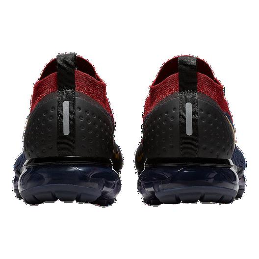 wholesale dealer 44883 5f5cb Nike Men's Air Vapormax Flyknit 2 Running Shoes - Red/Brown/Black ...