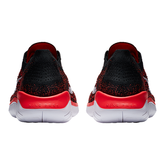 912e81b2a6dce Nike Men s Free RN Flyknit 2018 Running Shoes - Red White Black. (0). View  Description