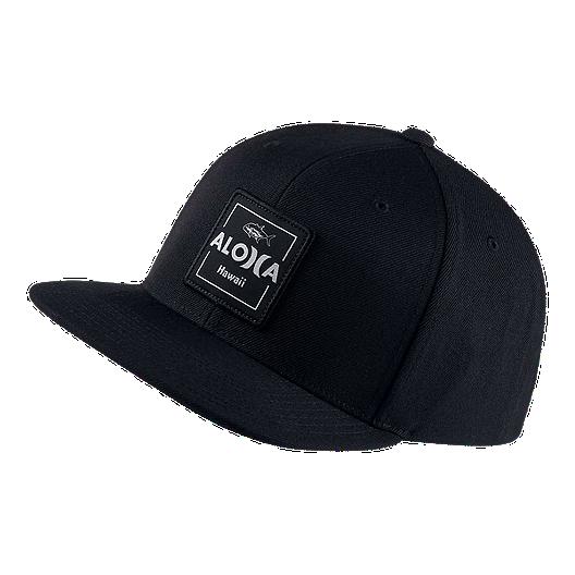 watch 7b26f e3523 Hurley Men s  Aloha Cruiser 2 Snapback Hat - Black   Sport Chek