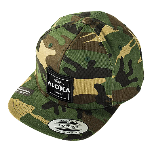 82864f59291dc Hurley Men s  Aloha Cruiser 2 Snapback Hat - Camo