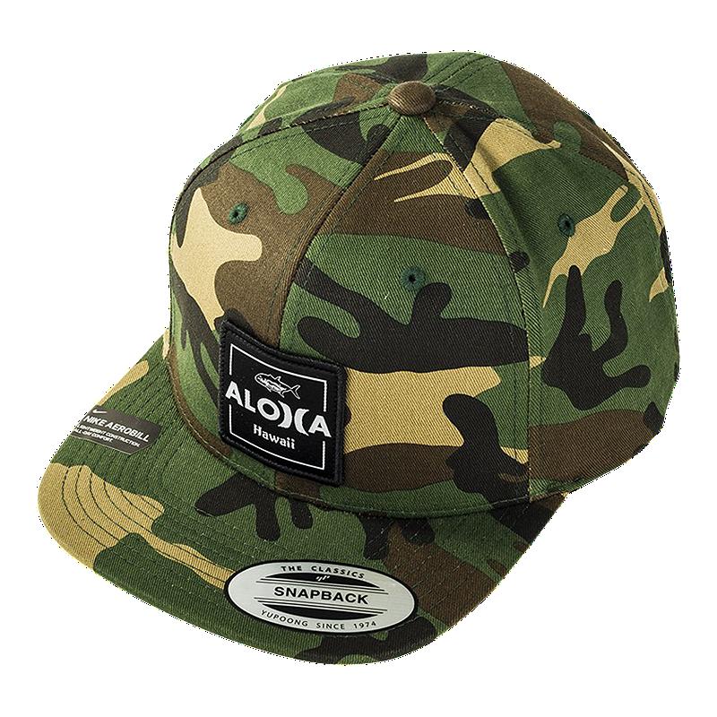 Hurley Men s  Aloha Cruiser 2 Snapback Hat - Camo  45924fe51805