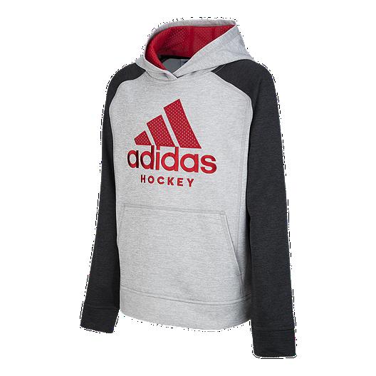 adidas Boys' Fusion Hockey Pullover Hoodie | Sport Chek