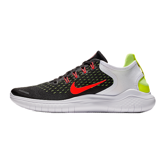 dbbe7574fb21 Nike Men s Free RN 2018 Running Shoes - Black Red White