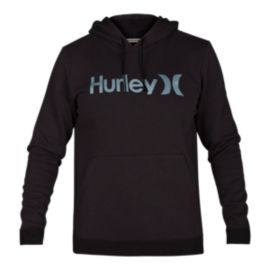 Hurley Men's Surf Check One & Only Pullover Hoodie - Black Heather