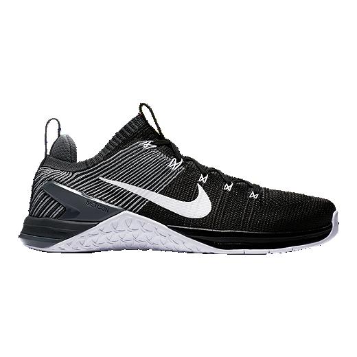 783ec5a4a9c6 Nike Men s Metcon Dsx Flyknit 2 Training Shoes Black White Grey by Sport  Chek
