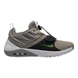 Nike Men's Air Max Trainer 1 Leather Training Shoes - Grey/White/Black