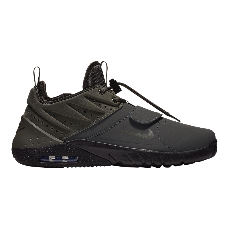 173e80b8cf9 Nike Men s Air Max Trainer 1 Training Shoes - Leather Grey Black ...