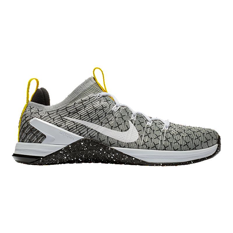 ffc24dbaf262 Nike Men s Metcon DSX Flyknit JDQ Training Shoes - Black White Yellow