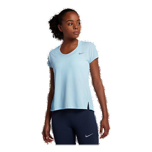 8e4b6d29 Nike Women's Miler Soft X Back Running T Shirt
