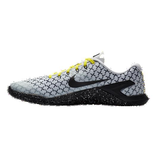 37d488b0f6fe Nike Men s Metcon 4 JDQ Training Shoes - White Black Yellow