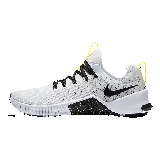 online primer nivel la compra auténtico Nike Men's Metcon Free X Training Shoes - White/Black/Yellow ...