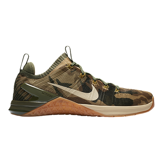 the best attitude ab96e 09e8a Nike Men s Metcon DSX Flyknit 2 Training Shoes - Camo Olive Silver Grey    Sport Chek