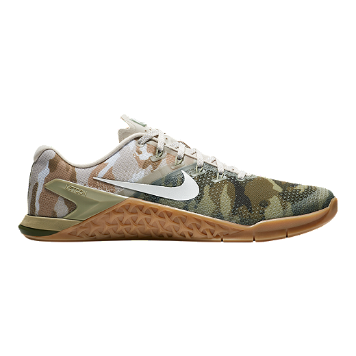finest selection da523 27b50 Nike Men s Metcon 4 Training Shoes - Camo Olive White Brown - OLV