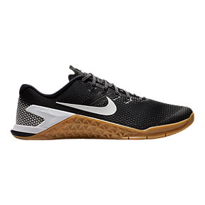 Nike Men's Metcon 4 Training Shoes - Black/White/Brown