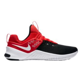 Nike Men's Free x Metcon Training Shoes - Red/White/Black