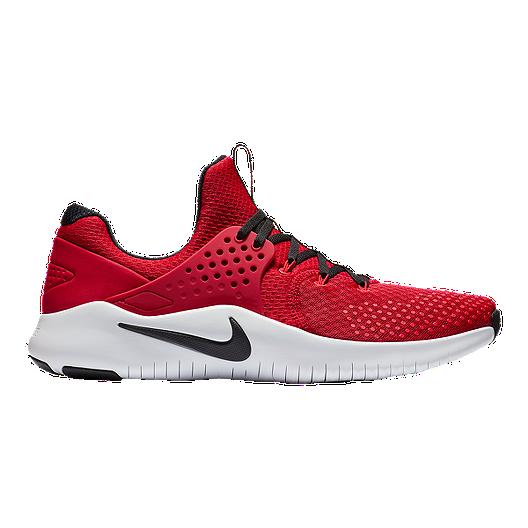 online store e0c45 20430 Nike Men s Free TR V8 Training Shoes - Red Black White   Sport Chek