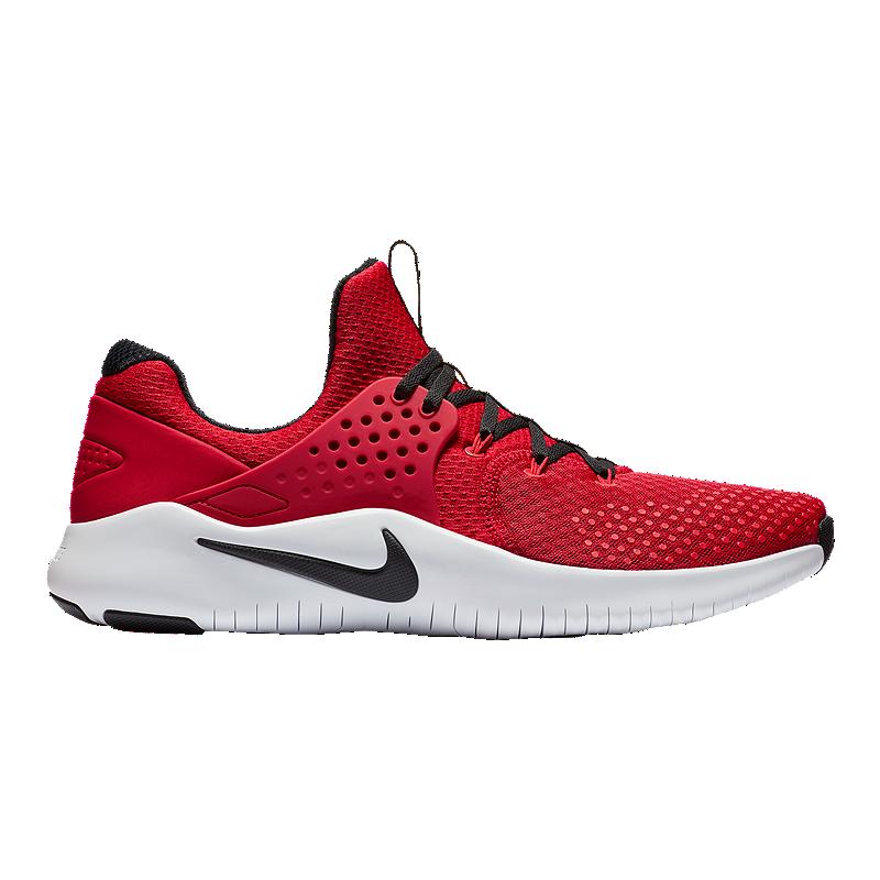 2117fa4e4e407 Nike Men s Free TR V8 Training Shoes - Red Black White