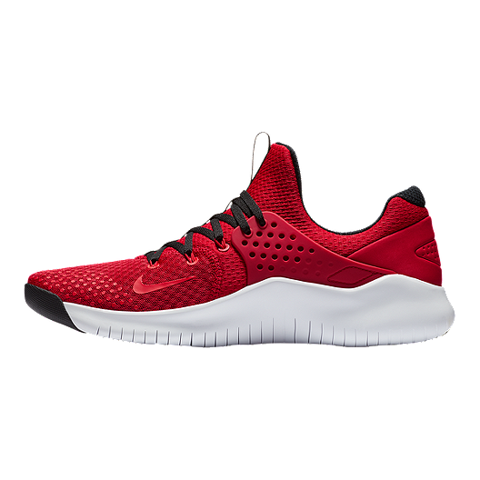 Nike Men's Free TR V8 Training Shoes RedBlackWhite