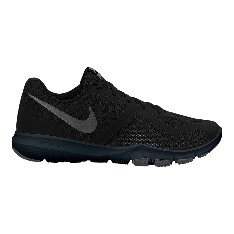 67f2aad5840f Nike Men s Flex Control II Training Shoes - Black Anthracite