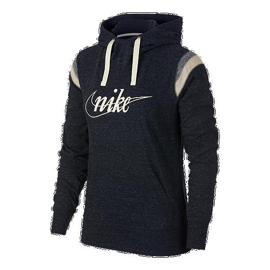 d95d37a4bdd74 Nike Sportswear Women s Gym Vintage Varsity Pullover Hoodie