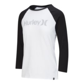 Hurley Women's One And Only Perfect Raglan Shirt