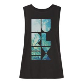 Hurley Women's Shapely Wash Biker Tank