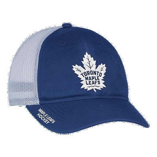 4522e27380d Toronto Maple Leafs adidas Meshback Slouch Flex Hat