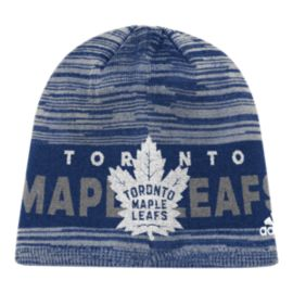 Toronto Maple Leafs adidas Cuffed Heathered Beanie