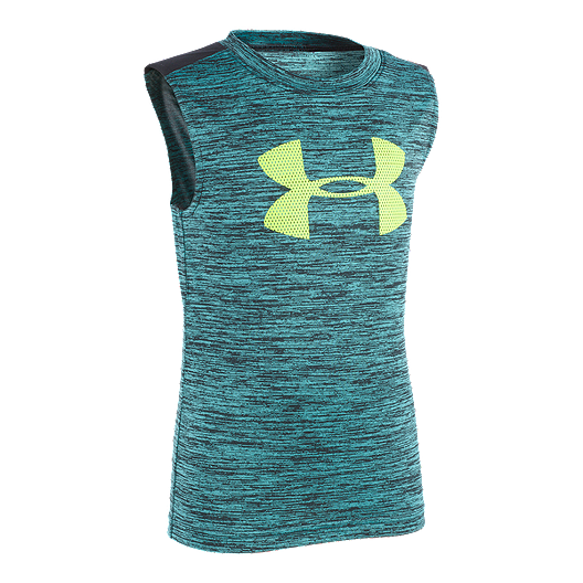 fe23b3b27bd25 Under Armour Boys  4-7 Twist Muscle Tank