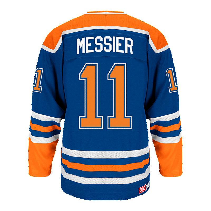 764c1d217e4 Edmonton Oilers adidas Mark Messier Heroes Hockey Jersey