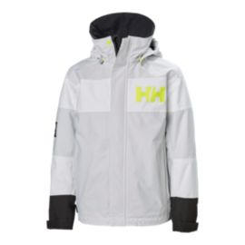 Helly Hansen Girls' Junior Salt Port Rain Jacket