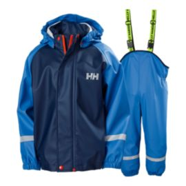 Helly Hansen Toddler Boys' Bergen PU Rain Set