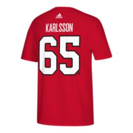 Ottawa Senators adidas NHL 100 Erik Karlsson Authentic Ice Player T Shirt