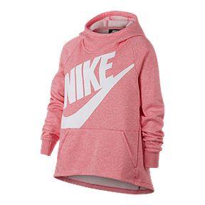 6e7fe75ac4cc Nike Sportswear Girls  PE Pullover Hoodie