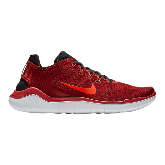 check out c013f 5cf11 Nike Men s Free RN 2018 Running Shoes - Red Black Red   Sport Chek